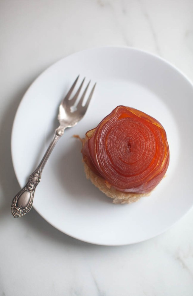 Swirled Apple Tarte Tatin | ZoëBakes photo by Zoë François