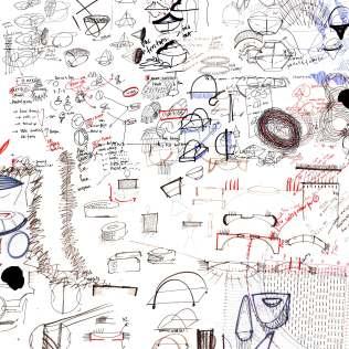 flockomania drawings by Zoe Robertson - jewellery artist