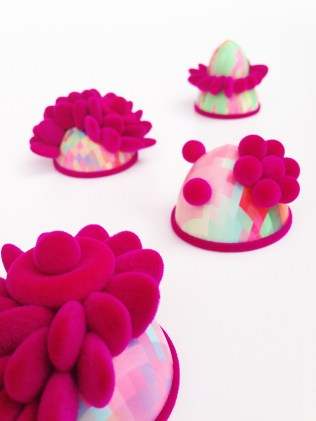Zoe Robertson - jewellery artist - pixelmania series