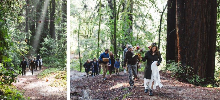 santa Cruz aptos ca wedding hike
