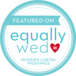 featured on equally wed blog