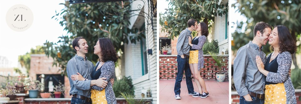 Bay Area proposal photography in oakland's lake merritt | Zoe Larkin Photo