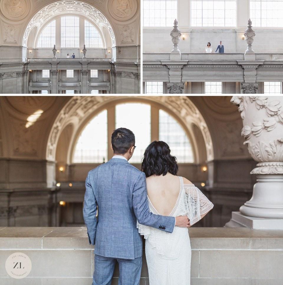 4th floor san francisco city hall wedding photography