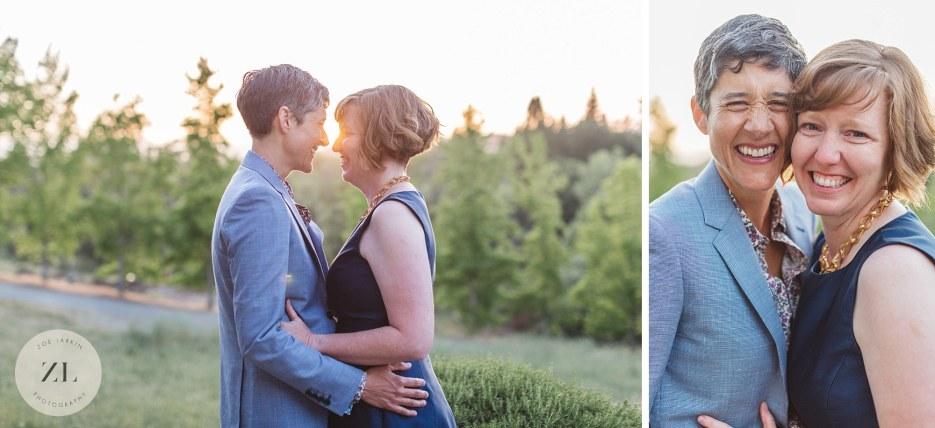 intimate gay wedding sonoma