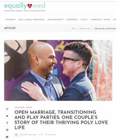 featured on equally wed trans couple open marriage