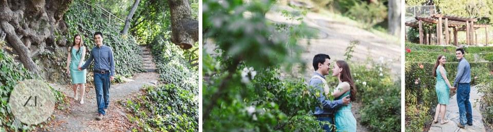 berkeley rose garden euclid ave engagement photos
