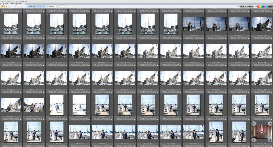 screenshot of photo mechanic explaining how its used by wedding photographers