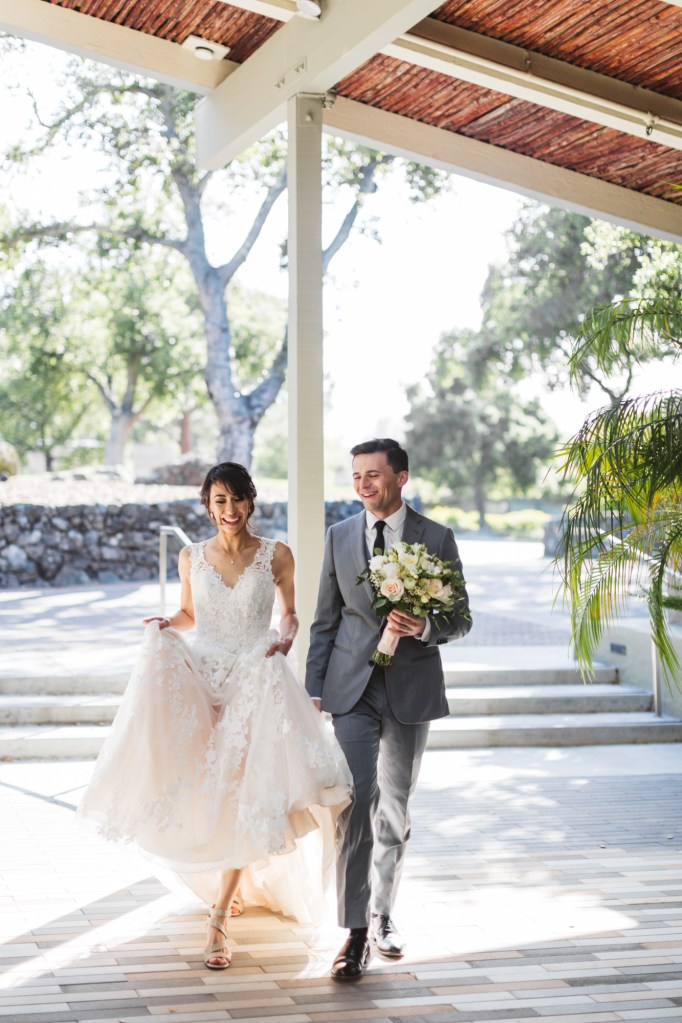 photography of couple getting married in menlo park