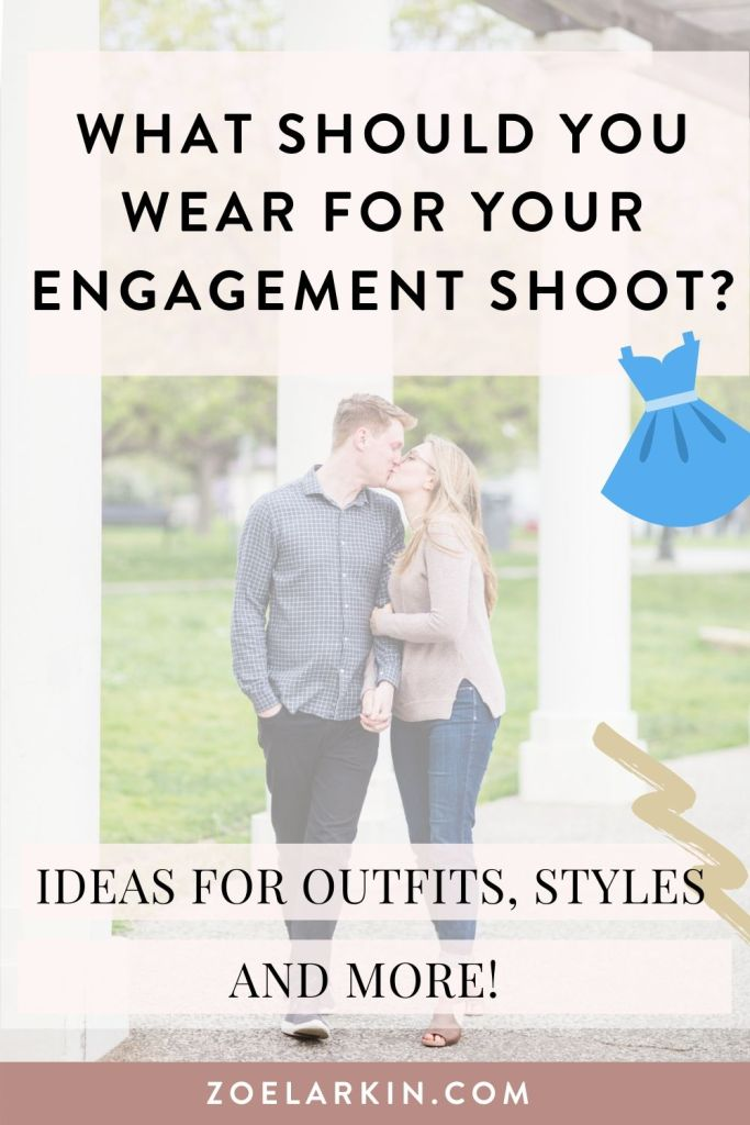What should you wear for your engagement shoot? 🤔 Every couple wants to look their best, but it's also important to feel comfortable and like your normal selves! My engagement photography guide to what to wear takes you through a few ideas, including how to complement your partner, what kinds of prints work best for the camera and how to dress in a way that's timeless, effortless and comfortable | #weddingphotography #bayareawedding | Zoe Larkin Photography