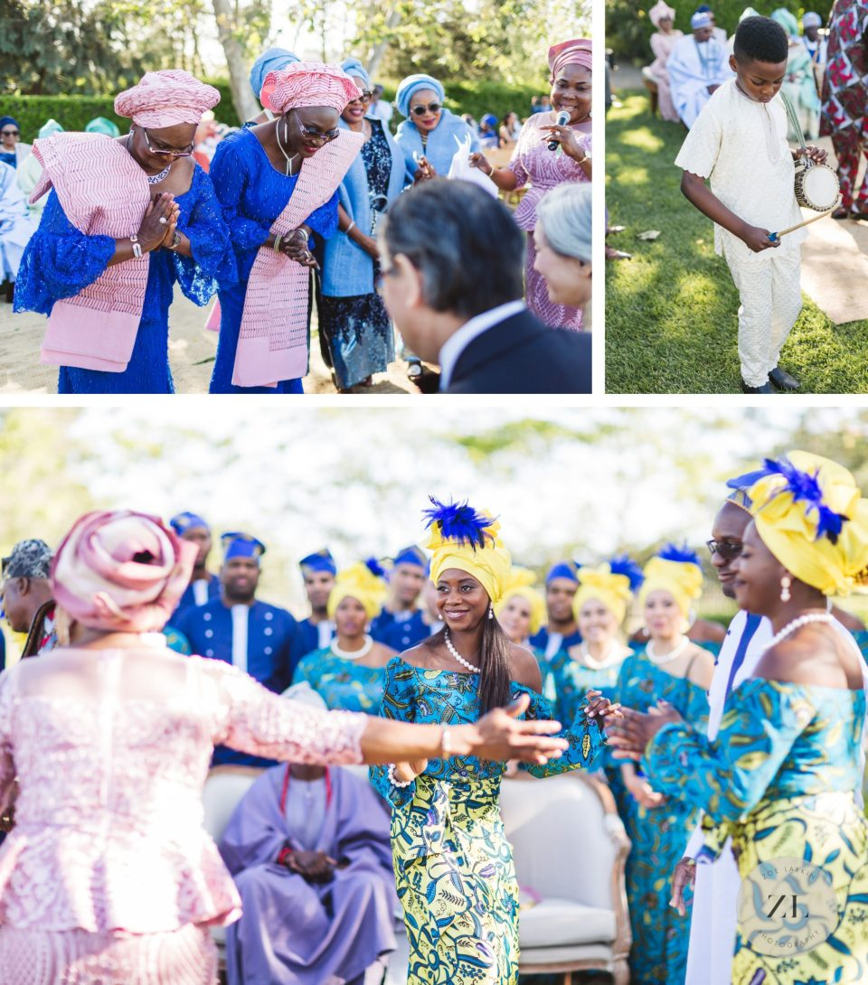 nigerian wedding at cornerstone sonoma wedding