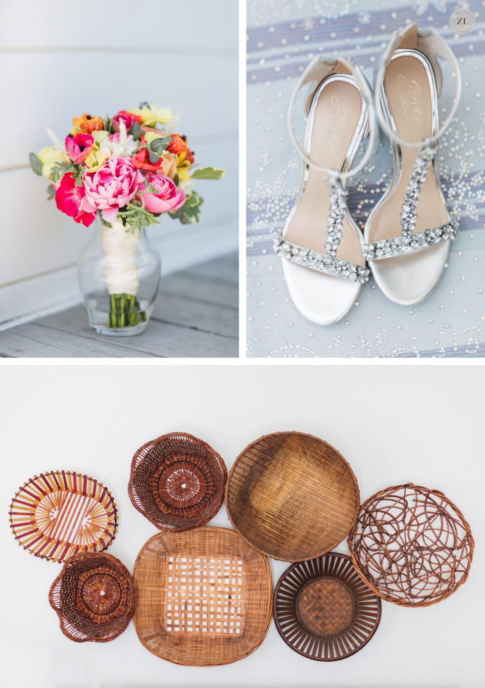 details at cornerstone sonoma wedding by Zoe Larkin Photography