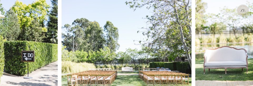 cornerstone sonoma wedding photos outdoor ceremony by zoe larkin photography