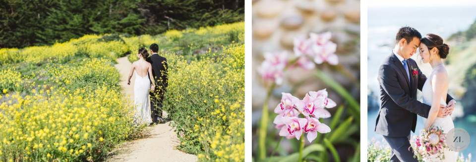california coastal wedding photographs at Carmel wedding