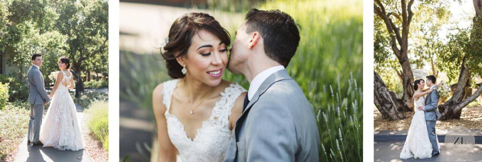couple's portraits at quadrus conference center, Menlo Park, CA by Zoe Larkin Photography