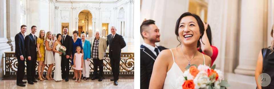 candid photos of mayor's balcony wedding