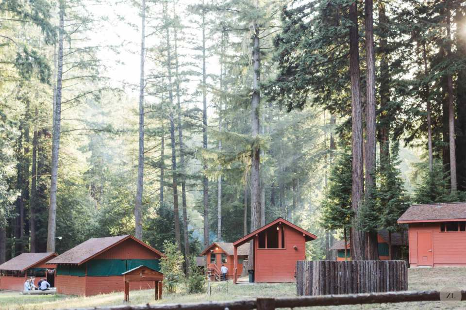 lodging at Camp Mendocino, Mendocino County CA