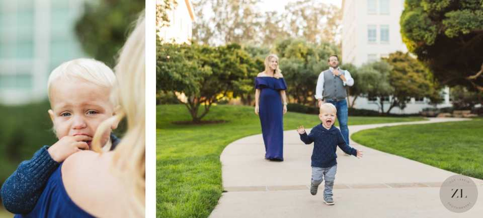 Kids being themselves makes for the best family photographs