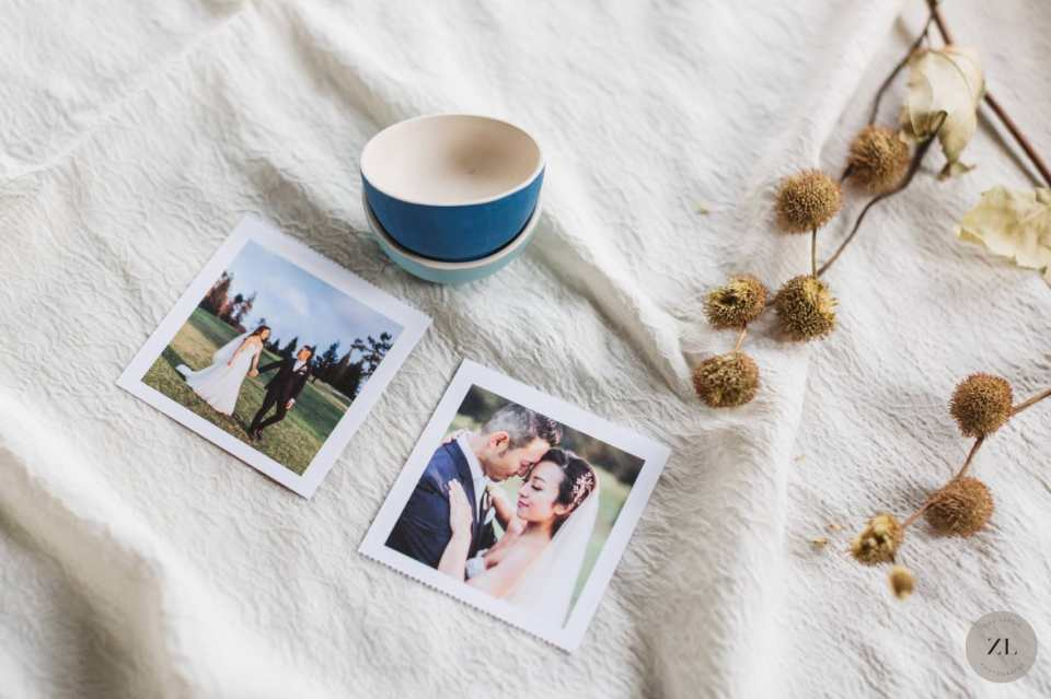 Greetabl features perforated sections for personalized images such as wedding photos