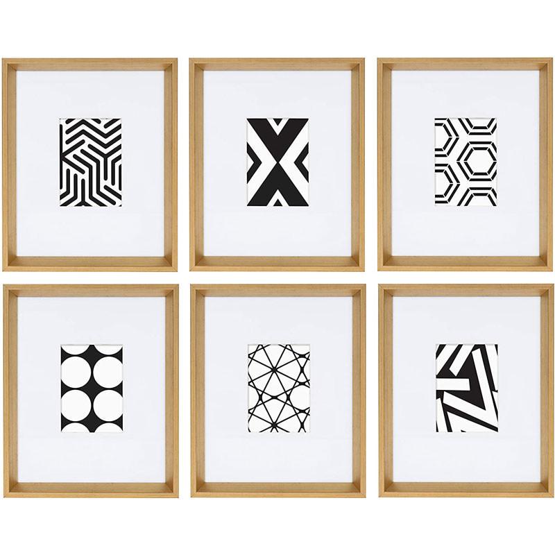 Framed Modern Geometric Abstract Art