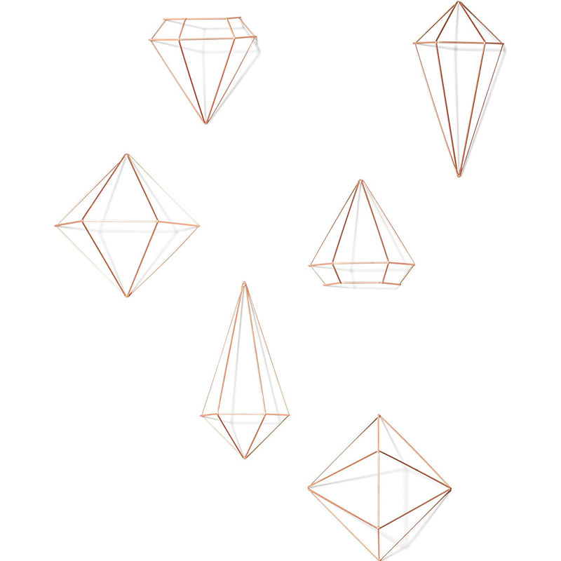 Geometric Minimalistic Sculptures for wall - cute office supplies available on Amazon