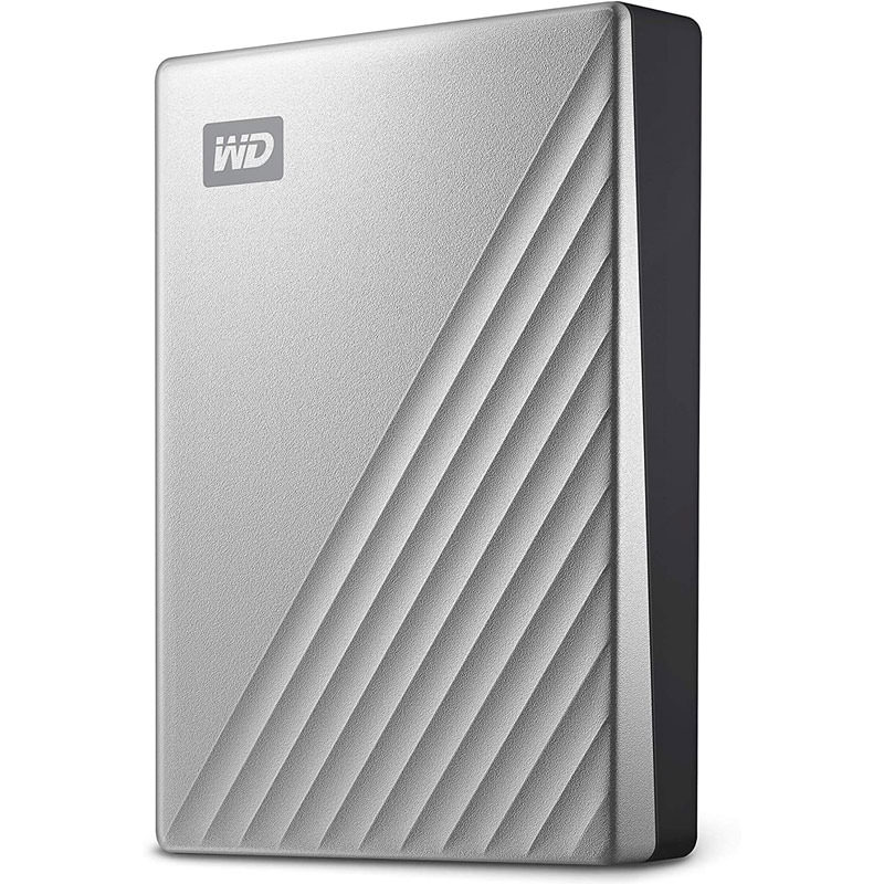WD Hard Drive 4TB Silver for home office data storage available at affordably low price on amazon