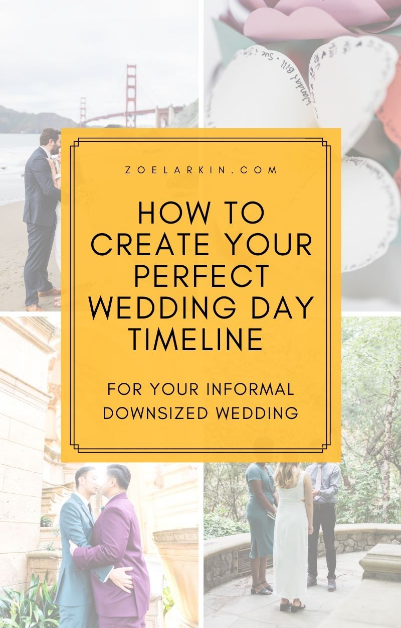 If you're having to downsize your wedding, check out my detailed guide to planning your intimate wedding day! There are plenty of helpful planning tips here that will keep you sane! What many couples don't realize is that intimate weddings, while simple can bring their own challenges. There is more set-up, and maybe no official venue or a vendor team for a tiny wedding. So you need this indispensable guide to planning your small wedding! #weddingplanning #intimatewedding | Zoe Larkin Photo