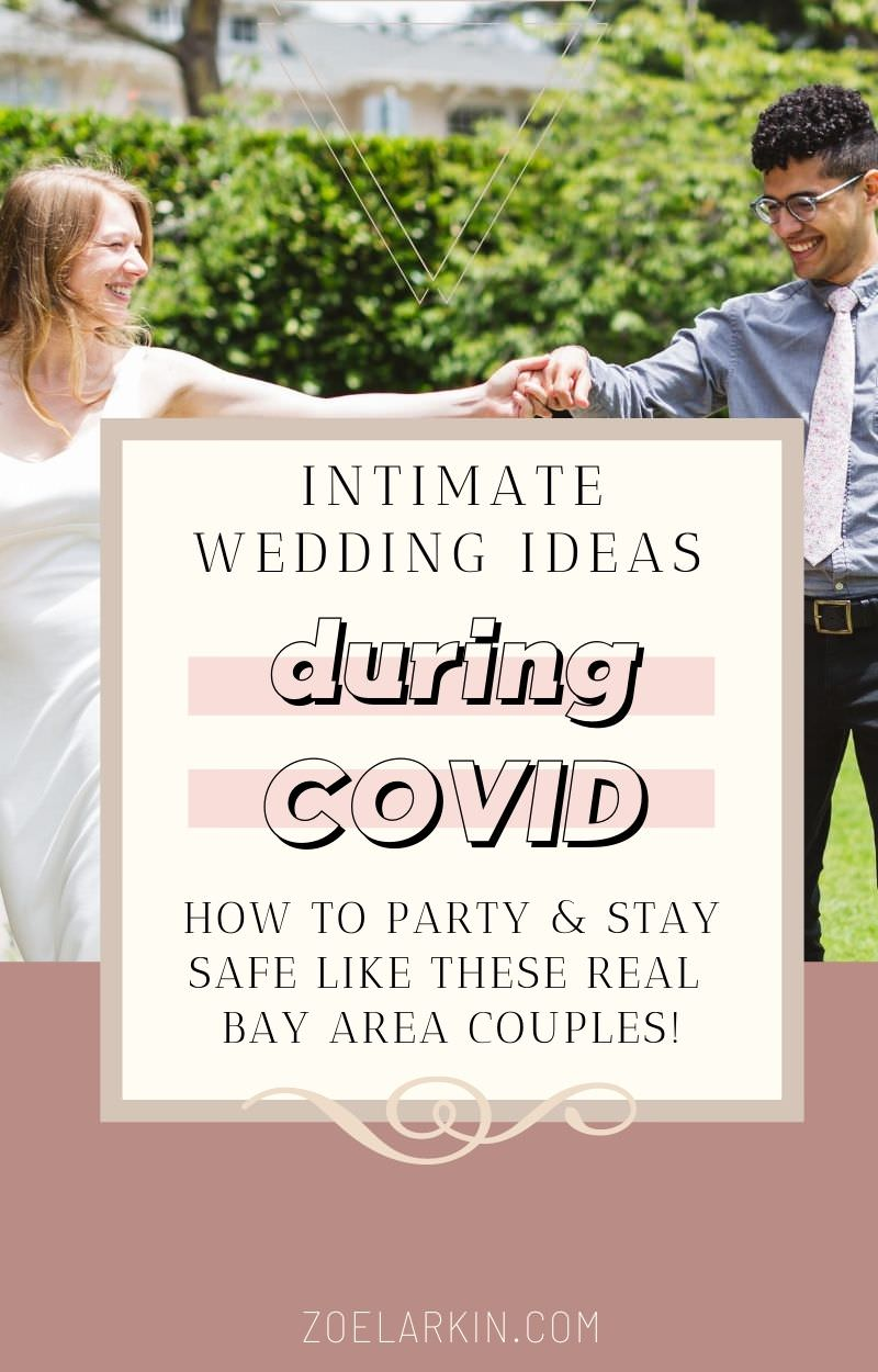Having an intimate Bay Area wedding? Whether you always wanted a small, family-only ceremony/elopement, or have had to downsize due to the current situation, maybe you need inspiration to get the wheels turning. The good news is you can make your wedding your own creation, with many now-deserted locations all over the San Francisco Bay Area to choose from! Be sure to pick a photographer that can guide you through the process step by step. | zoelarkin.com