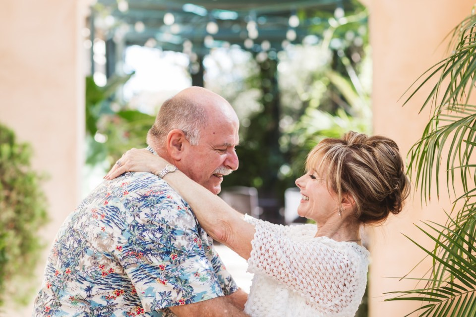 how long to allow for couples' photos on your downsized wedding day - the answer is up to one hour to allow for unrushed photos of the two of you!