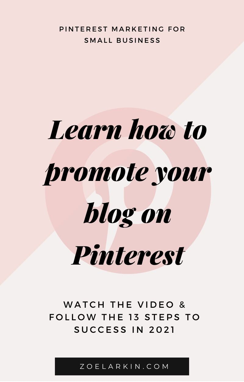Pinterest is the powerful visual search engine that CAN drive a huge volume of highly targeted traffic to your site. But it doesn't just happen by itself - a strategy is required to get the most out of Pinterest. We cut through the confusion and show you how to get started with Pinterest as a complete Pinterest beginner. With my 13-steps, in blog post and YouTube video format, you'll soon be pinning like a pro.   #pinterestmarketing #pinteresttips #pinterestforbeginners   zoelarkin.com