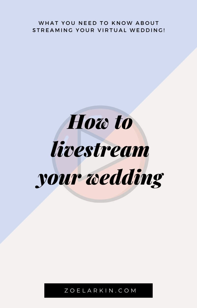 Livestreaming your wedding is a hot topic right now! I thought it'd be helpful to give you everything I know about livestreaming - what works, what doesn't, tips + technical snafus to avoid! As a wedding photographer in the Bay Area, I've photographed many weddings where technology has not played ball. That's why I recommend one livestreaming service, designed specifically with weddings in mind! Give your virtual guests the experience they deserve, while saving money by having a small wedding!
