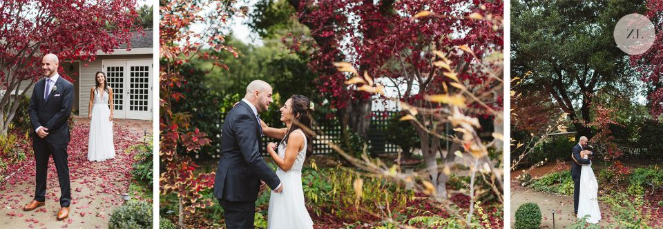the first look is a time on your wedding day to savor a few moments together before a whirlwind of a day!