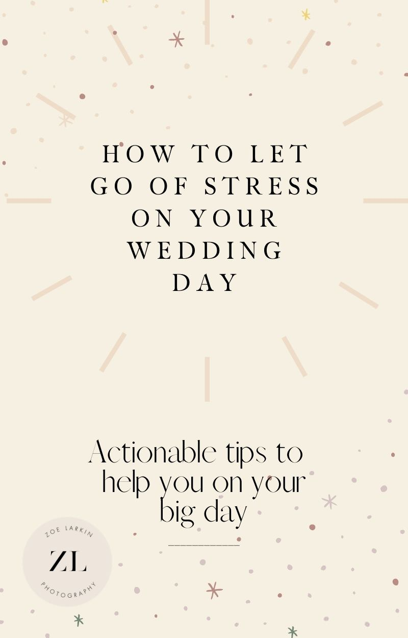 Don't miss these tips for savoring your wedding day, whatever happens!  These are my 5 wedding photographer tips for letting go of wedding day stress, no matter how much planning you've done and how small or simple your wedding is.  These tips will prepare you for whatever happens and encourage you to roll with it, because weddings never turn out exactly as expected! | #weddingplanning #sanfranciscoweddingphotographer #bayareaweddingphotographer zoelarkin.com