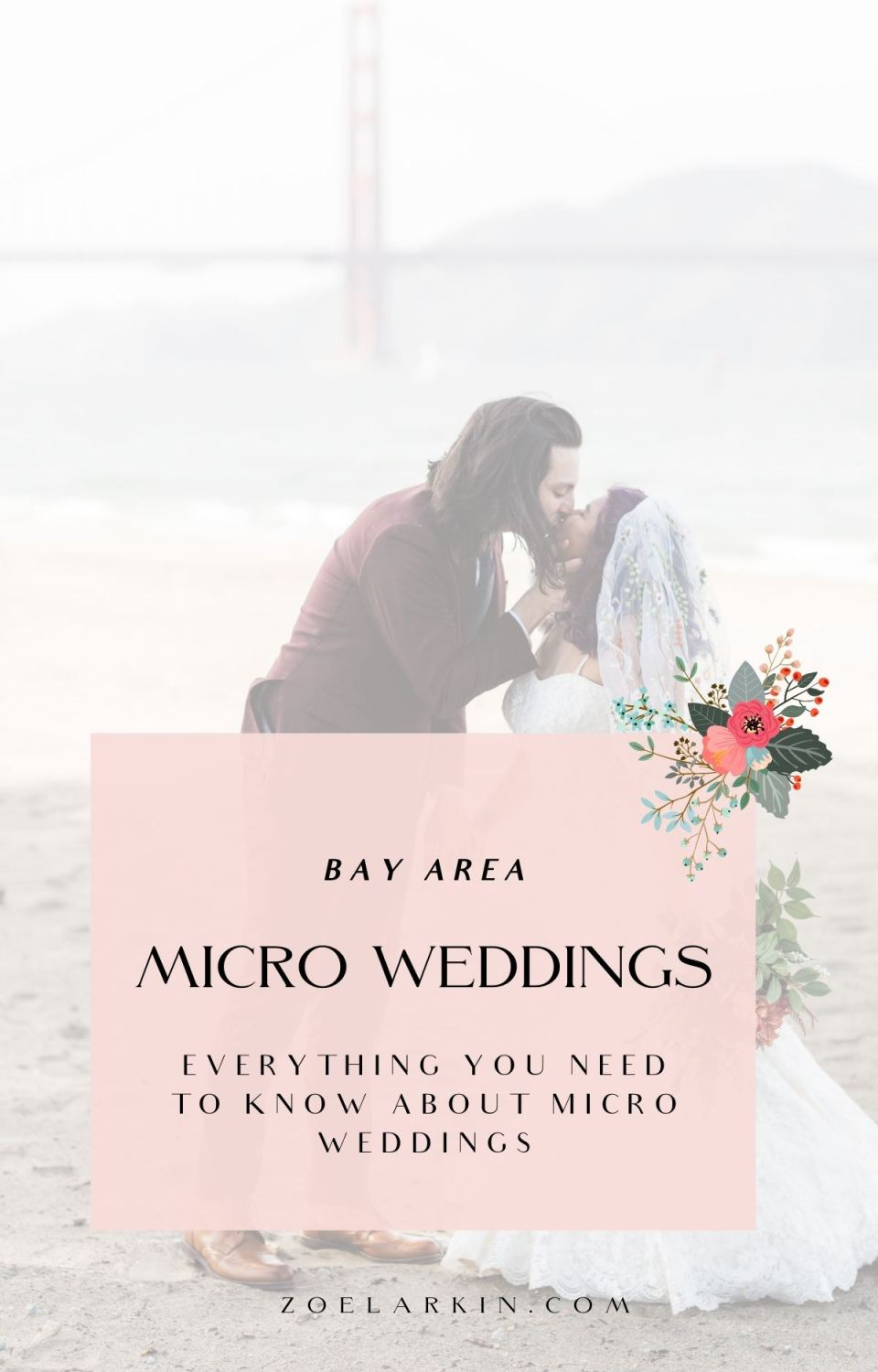 A micro wedding is a small, intentional wedding that may retain aspects of a traditional wedding celebration - just on a smaller scale. A micro wedding typically has fewer than 50 guests, and may therefore be the more frugal choice. If you're trying to decide whether a micro wedding is for you - I can help! Whether it's intimate wedding, mini mony, sequel wedding or micro wedding, I help shed light not only on what it all means but whether a small wedding is a good fit for you | zoelarkin.com