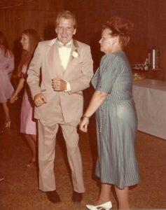 Curtis Dunn y su esposa Ruby
