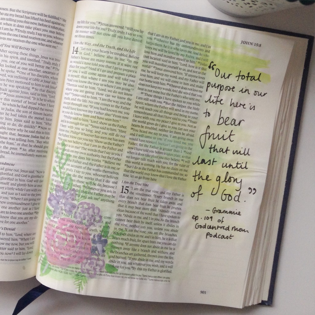 Bible journaling- illustrating your faith