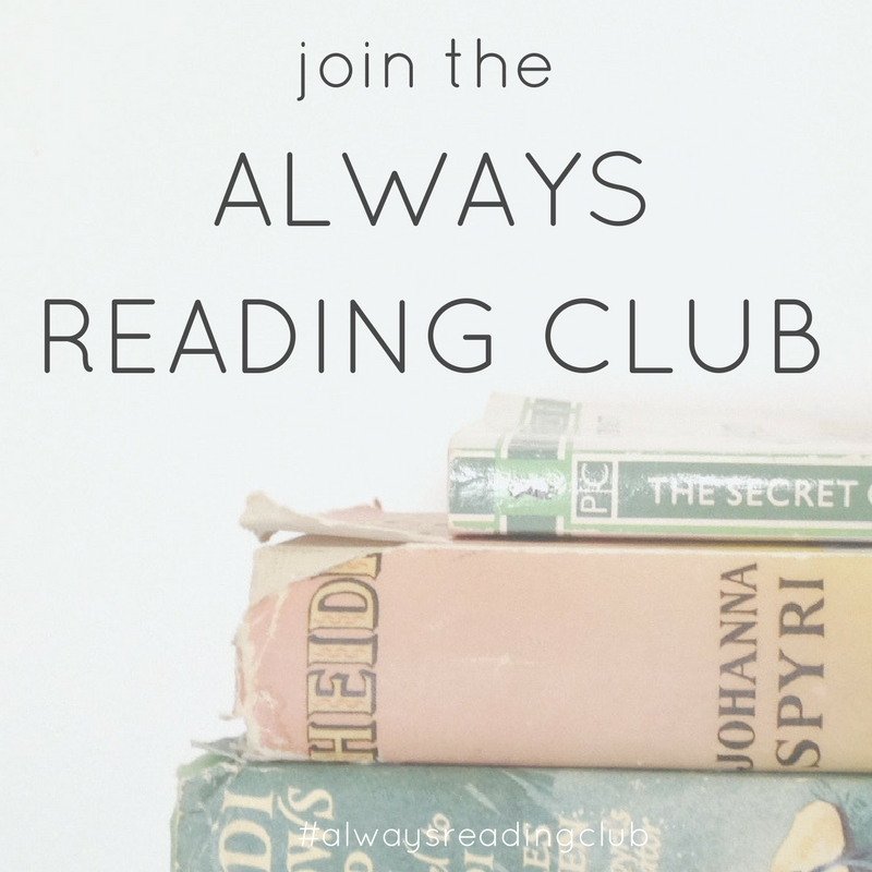 join the always reading club - relaxed and fun bookclub run by Zoeprose