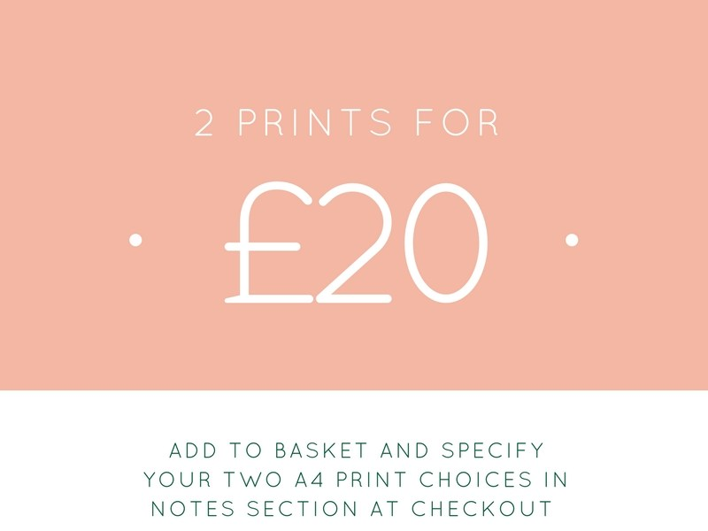 2 prints for £20