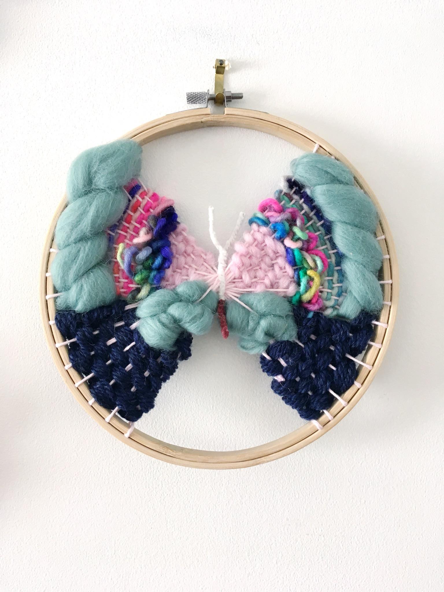 butterfly weave hoop