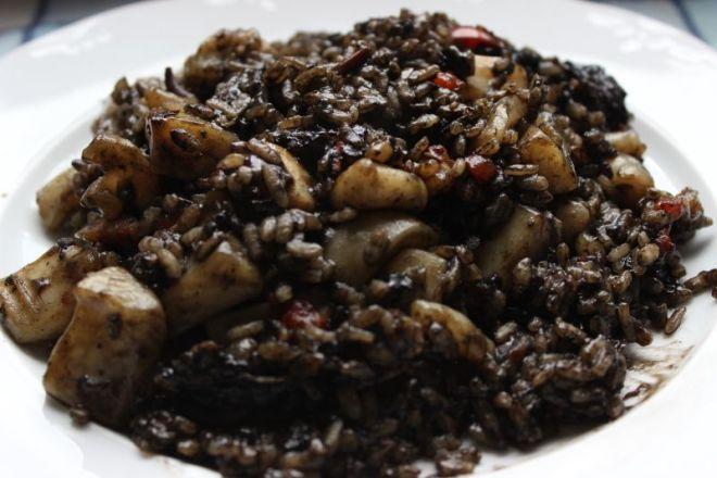 El arroz negro receta fácil, económica y rica rica