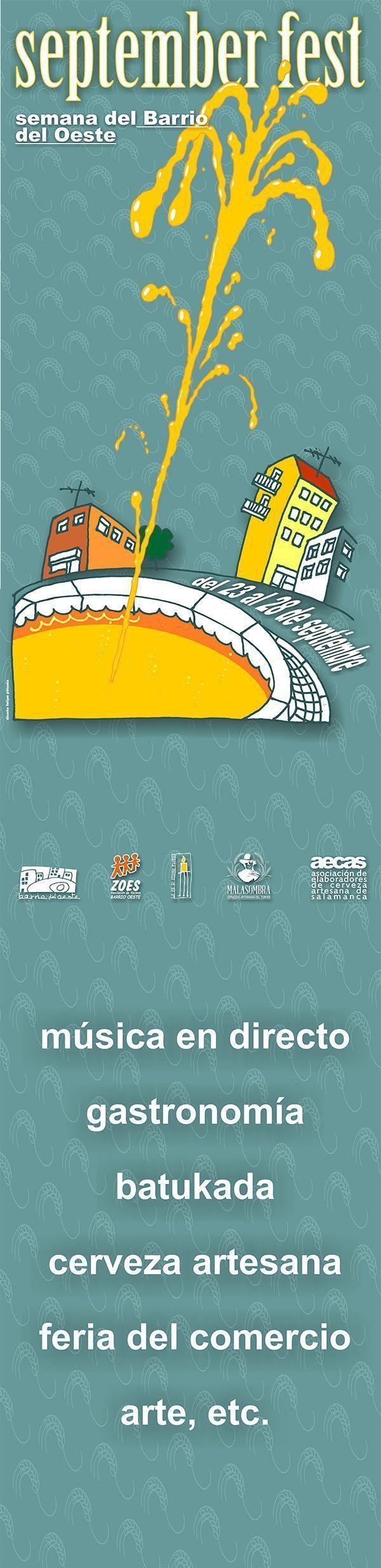 Cartel de la primera edición de la September Fest.
