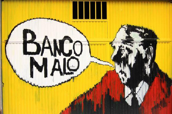 Banco Malo, por Ginés Marínez