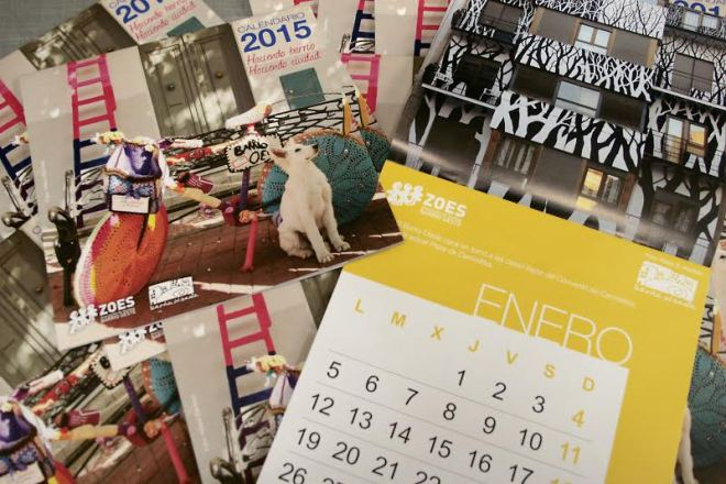 fotomontaje calendario 2015