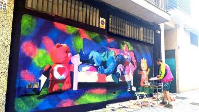 Photo of Yoseba MP, y la última obra de arte urbano en el barrio. Historias del Oeste de Radio Oeste