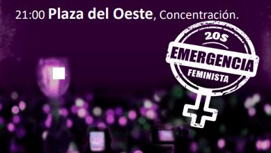 Photo of El 20S la noche será violeta. En la Plaza del Oeste daremos luz a la oscuridad