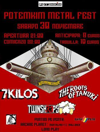 Festival Metal en Potemkim