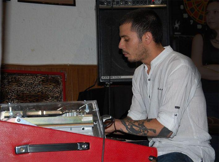 Luismi Segurado con el quinteto de Alberto Navales