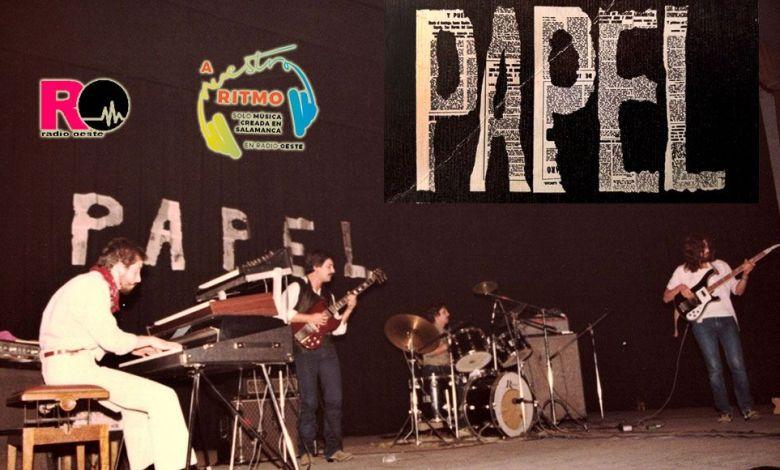 Papel (jazz-rock) entrevistado en A Nuestro Ritmo