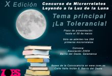 "Photo of Convocatoria. X Edición Concurso Microrrelatos ""Leyendo a la Luz de la Luna"""
