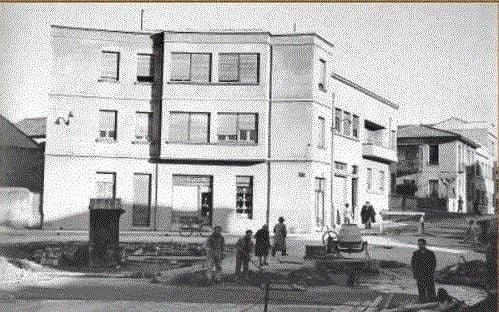 Plaza del Oeste, años 60