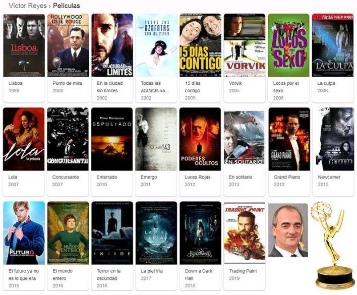 películas de Víctor Reyes